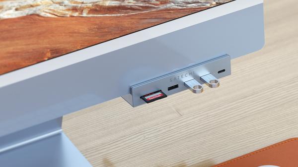 Satechi's New USB-C Hub Fixes Your M1 iMac's Port Problem
