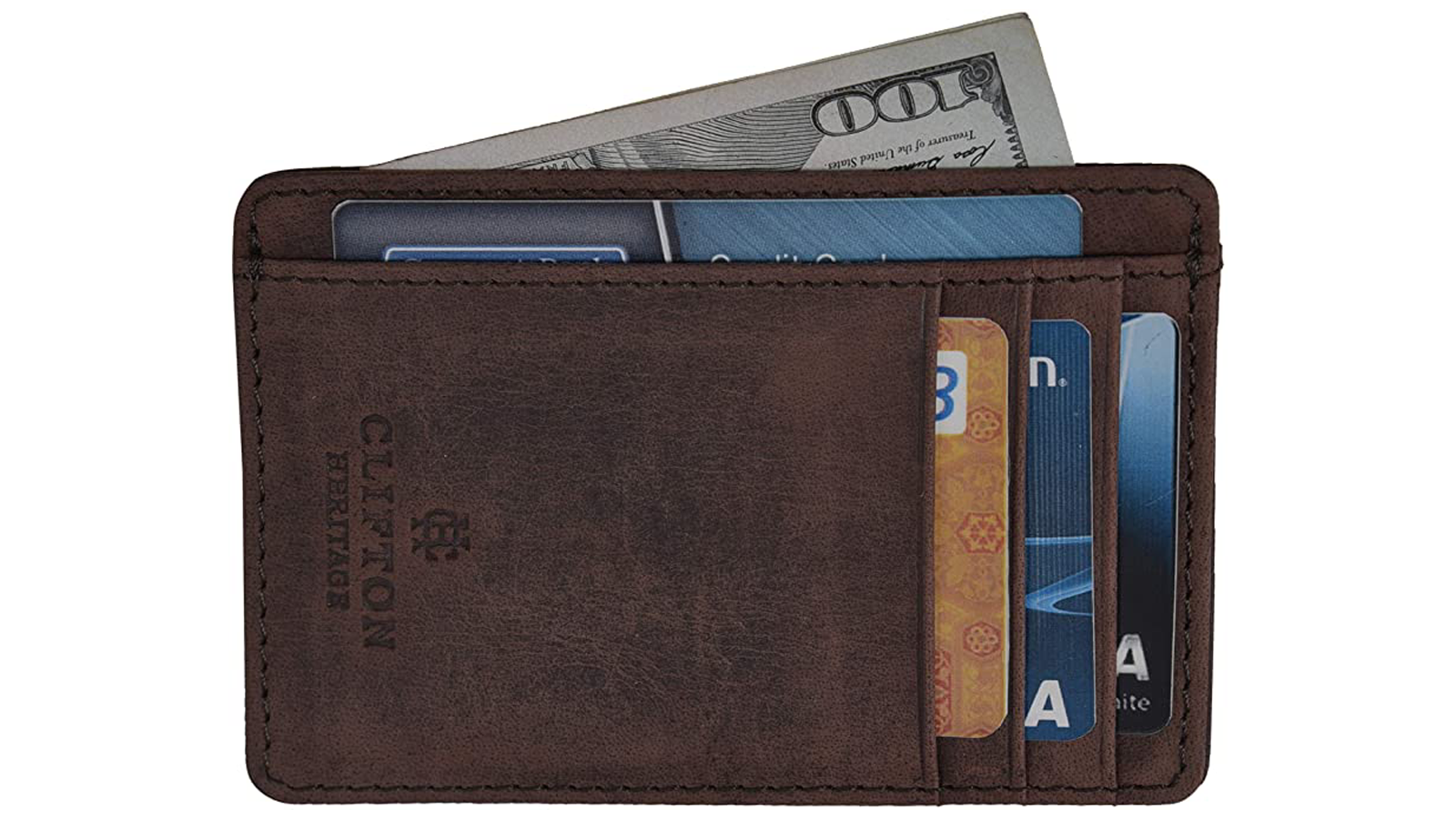 Upgrade Your Wallet to This Handsome Minimalist Leather Card Holder