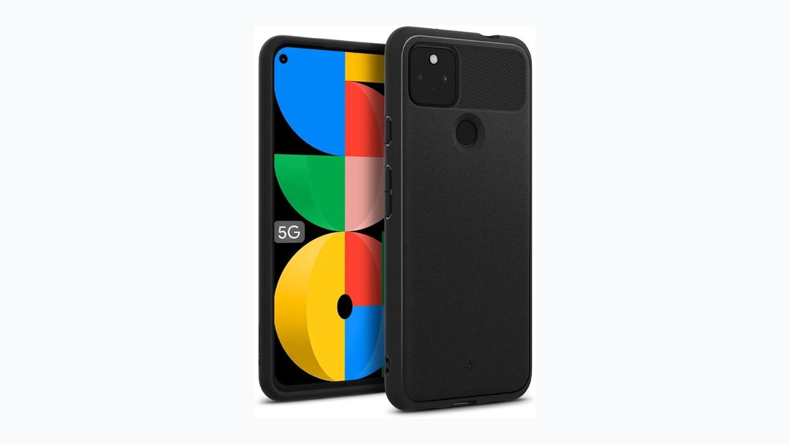 Google Pixel 5a in Caseology's Vault case.