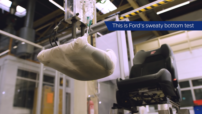 Ford Uses a Robotic Butt to Torture Test Its First Mass Market EV