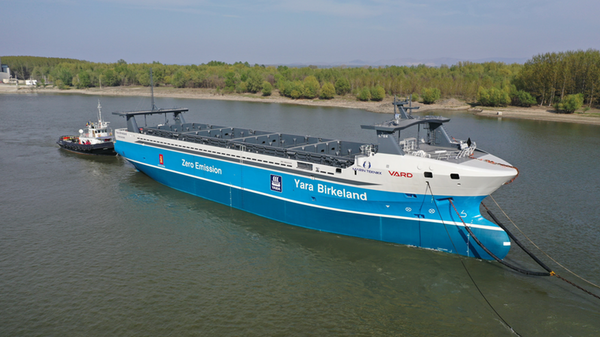 This Electric Cargo Ship Will Set Sail—without a Crew