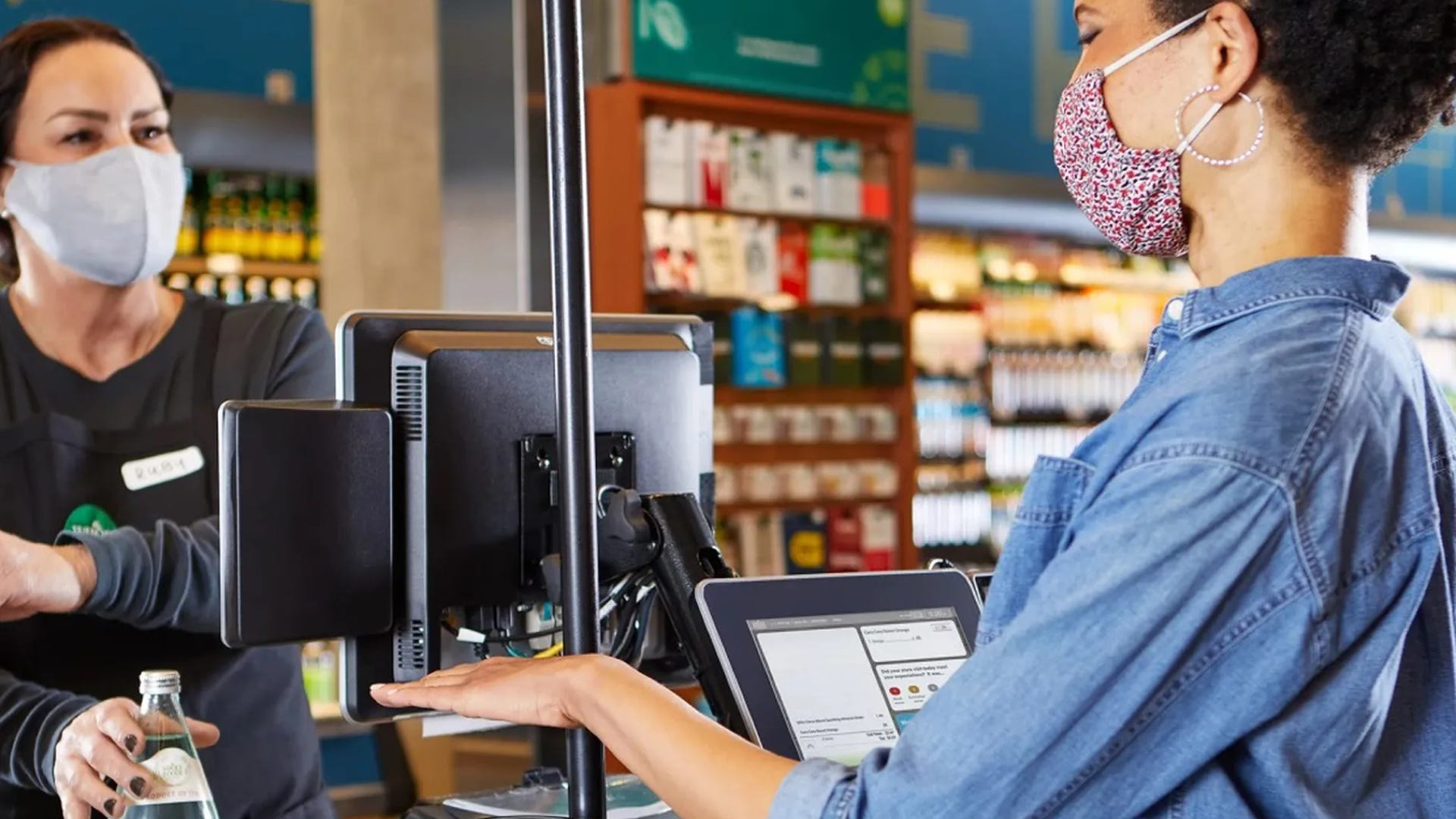 amazon palm scanning payment technology