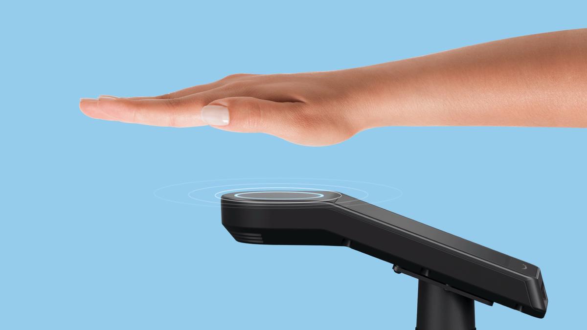 Amazon Palm scan secure checkout
