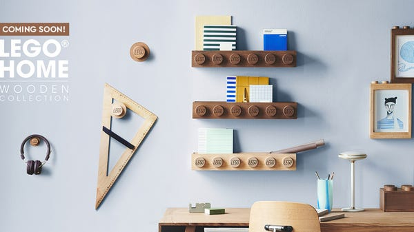 New LEGO Home Wooden Collection Arrives to Take Over Your Walls