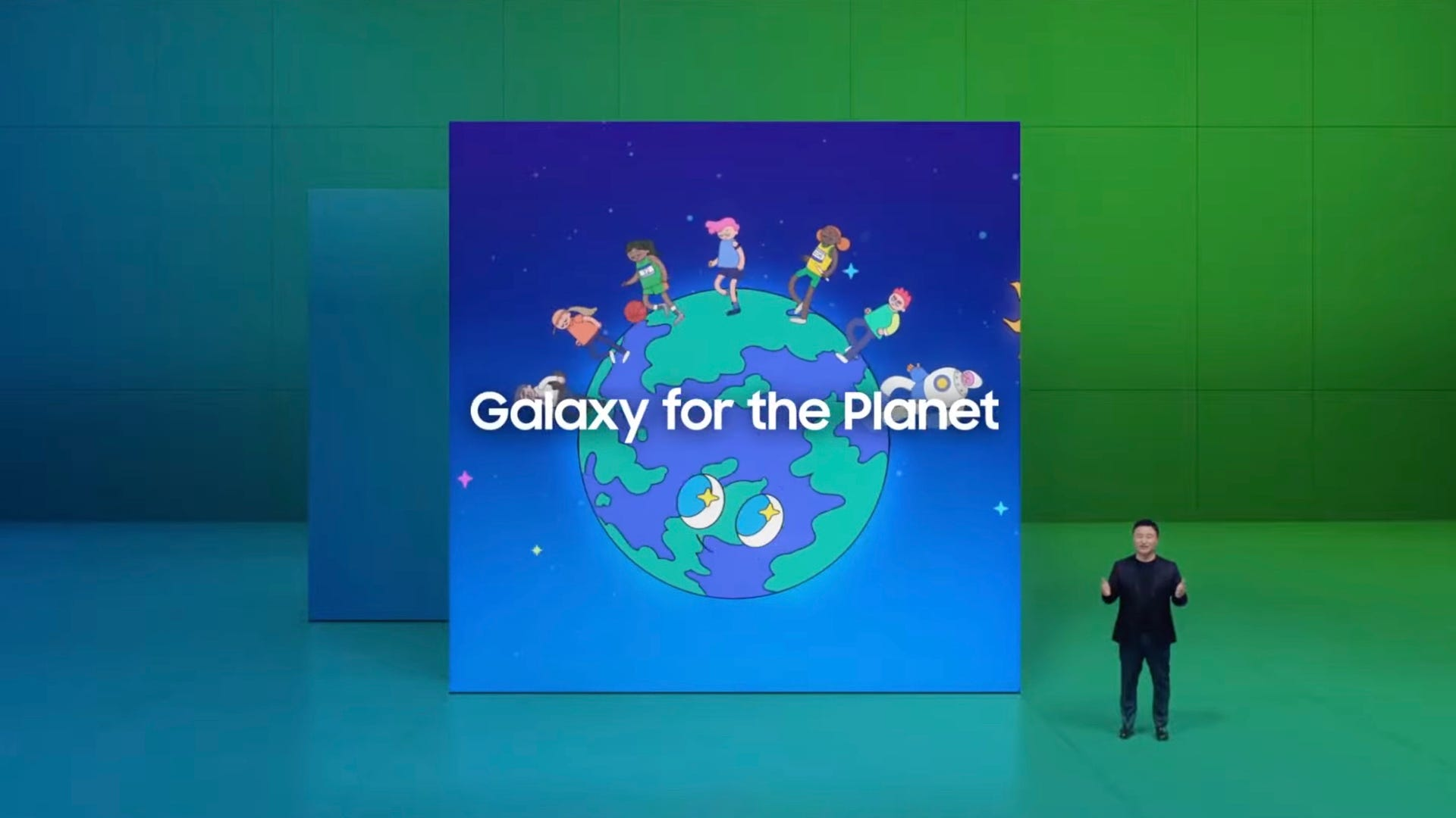 Samsung's green initiative