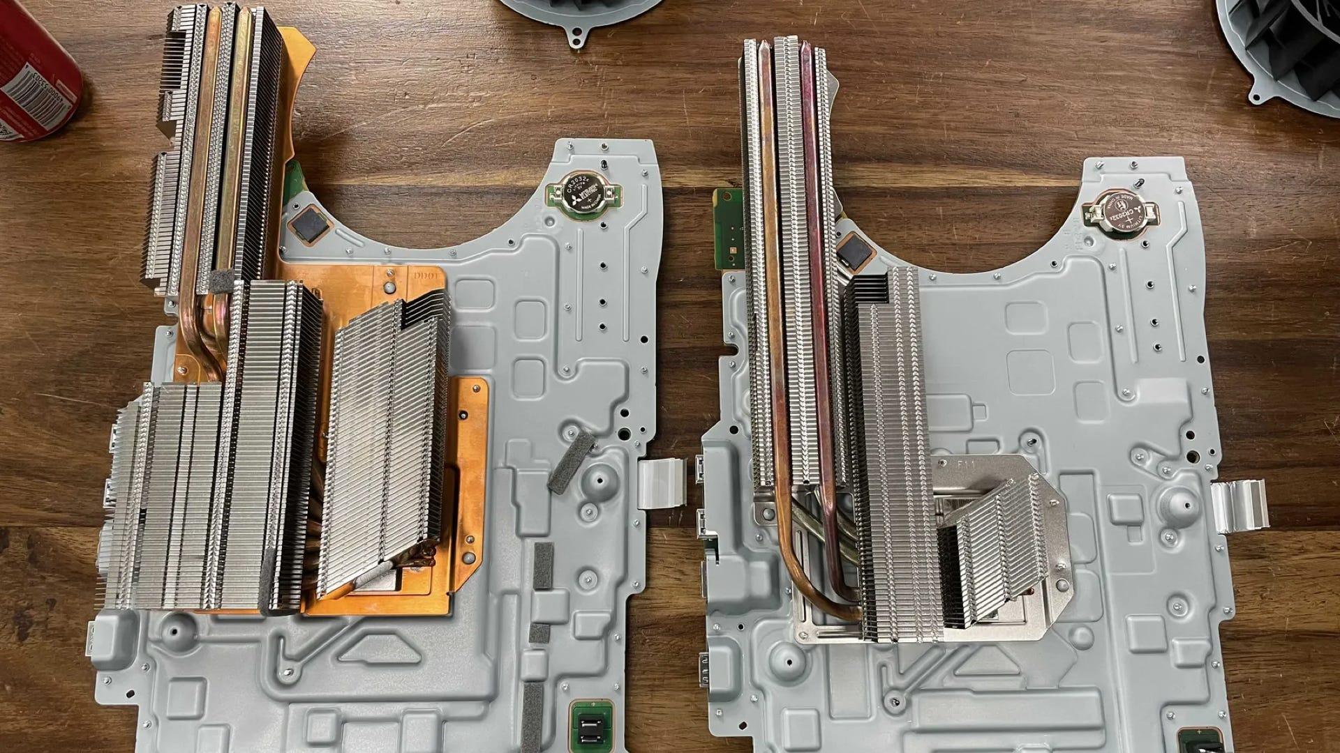 Sony PS5 new heatsink