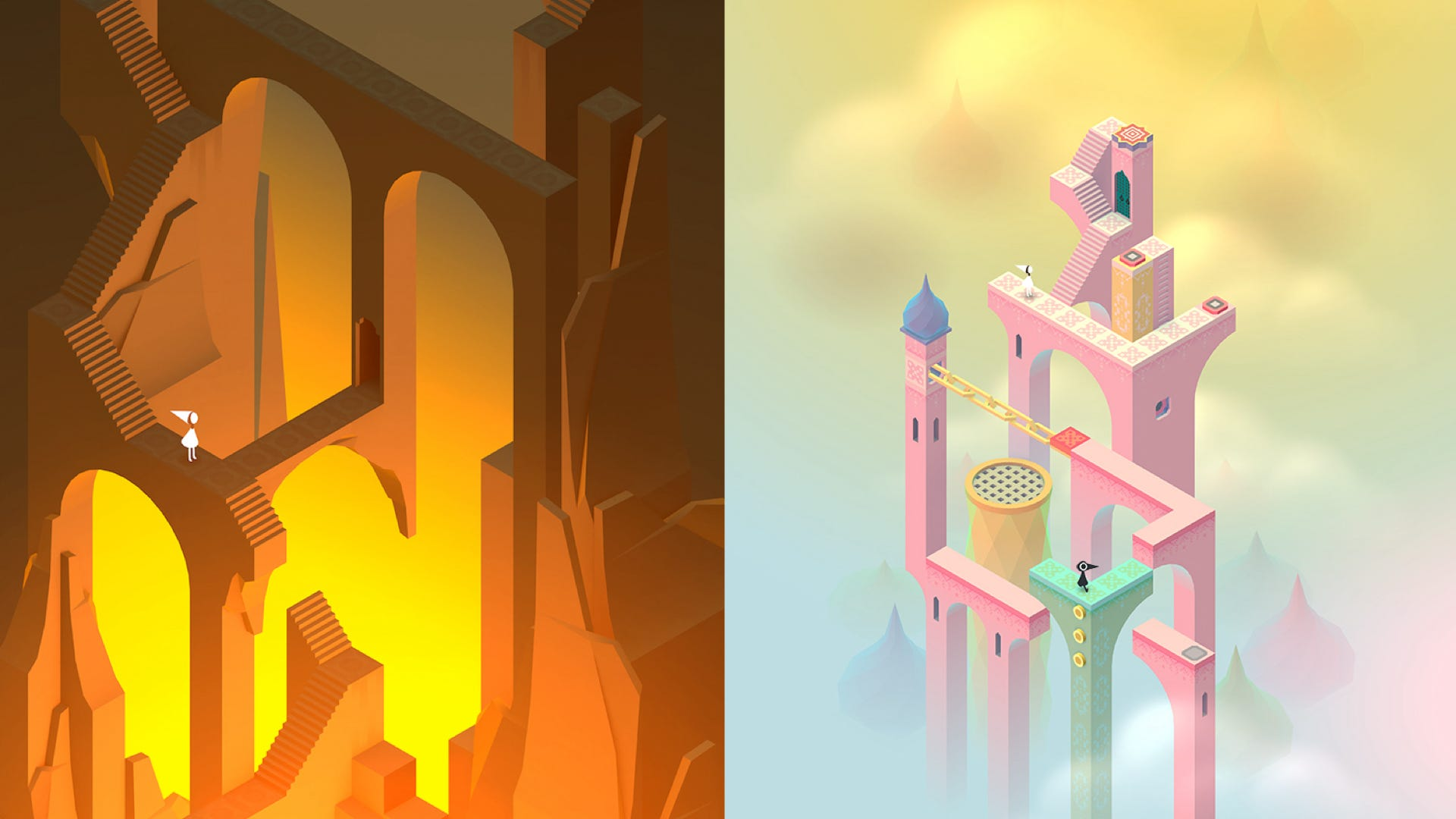 Monument Valley 2 gameplay