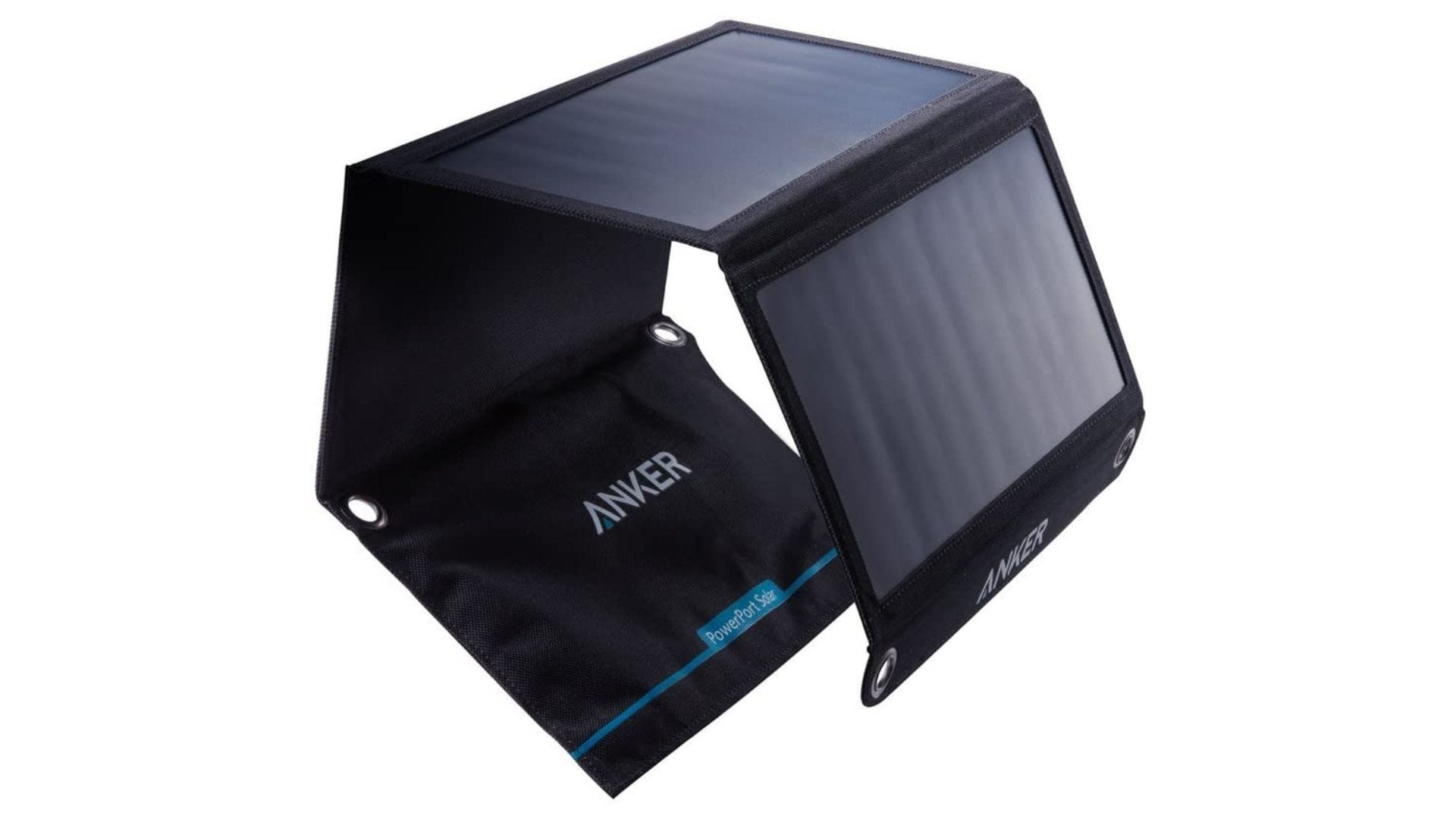 Anker 21W 2-Port USB Portable Solar Charger with Foldable Panel