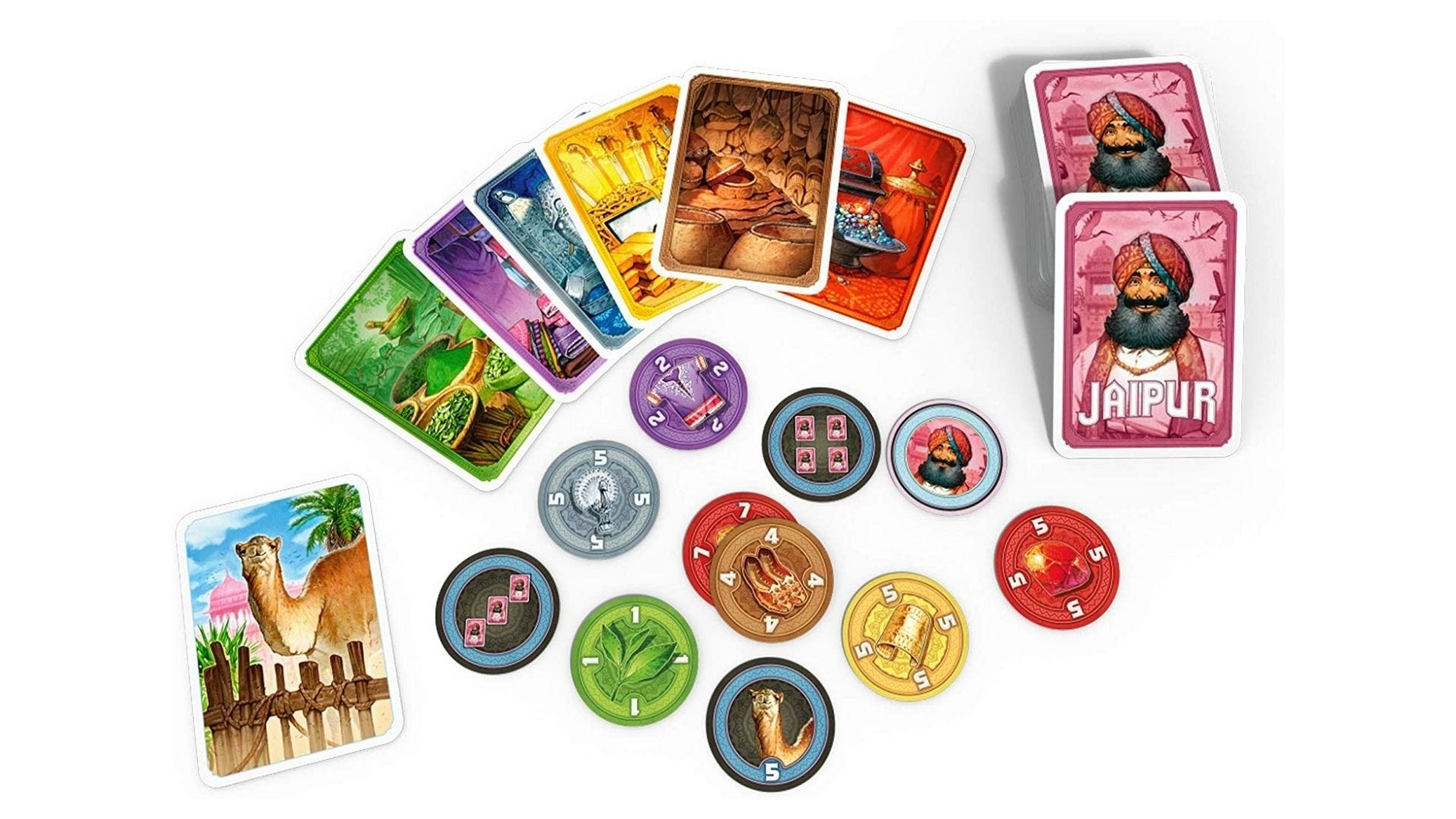 Jaipur Board Strategy Game for Adults and Kids