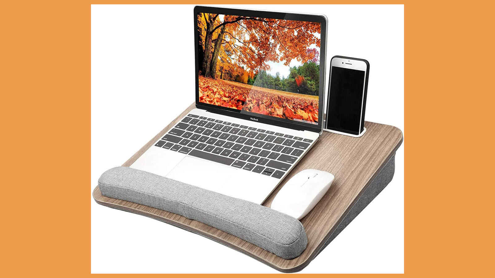 Be Productive and Comfortable Anywhere with This Portable Lap Desk