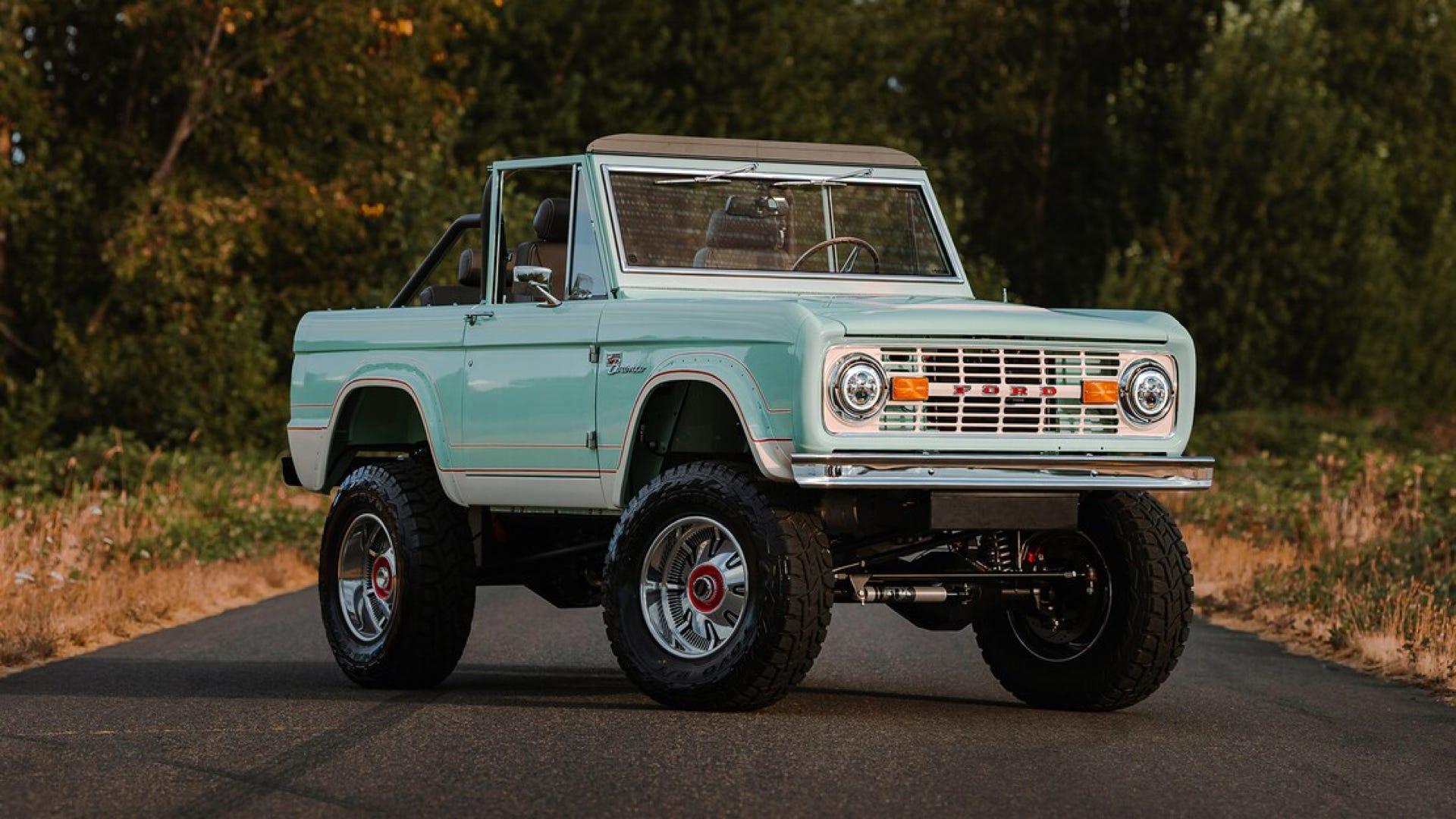 Bronco EV conversion