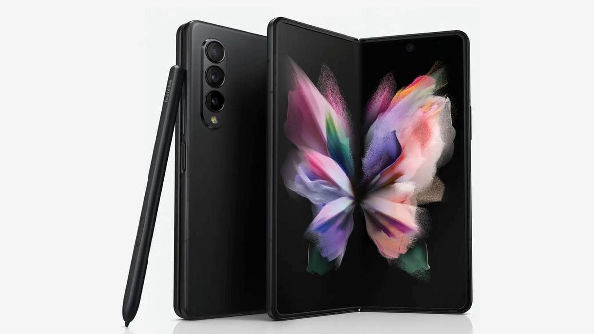 Galaxy Fold 3 with S-Pen
