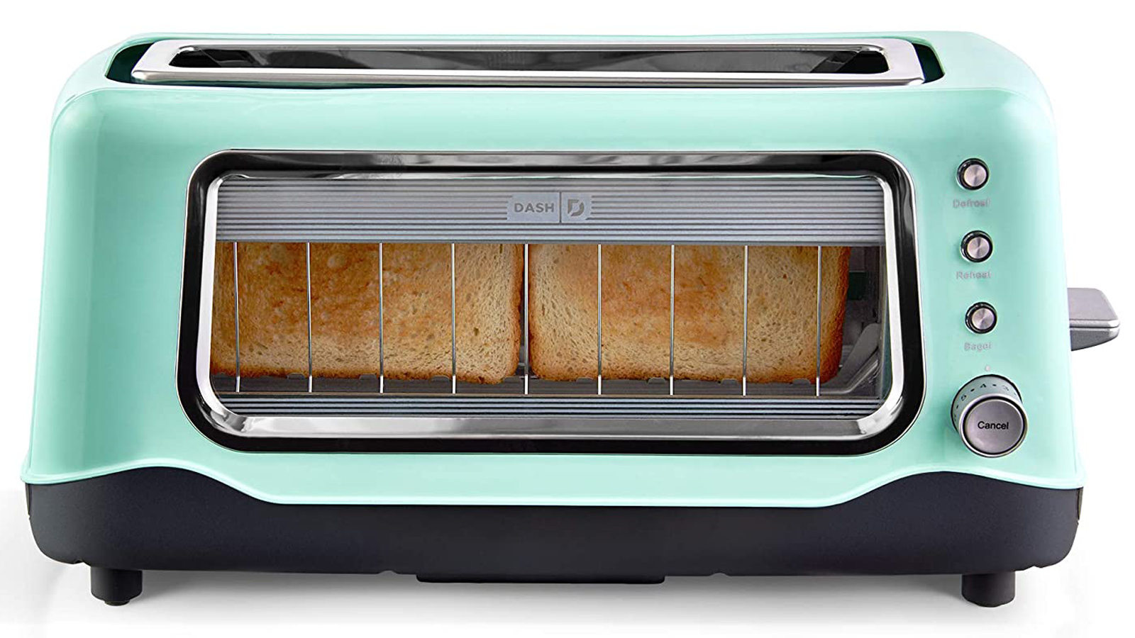 See Your Toast Get Toasted Through This Toaster's Cool Side Window