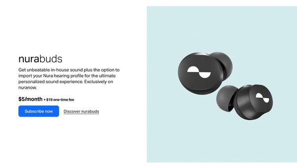 Nura's Wireless Earbud Subscription Plan is Disgusting