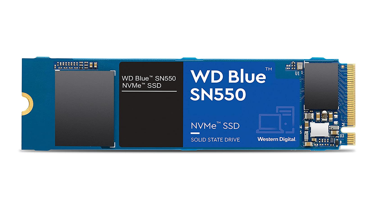 The WD Blue SN550 NVME  SSD.
