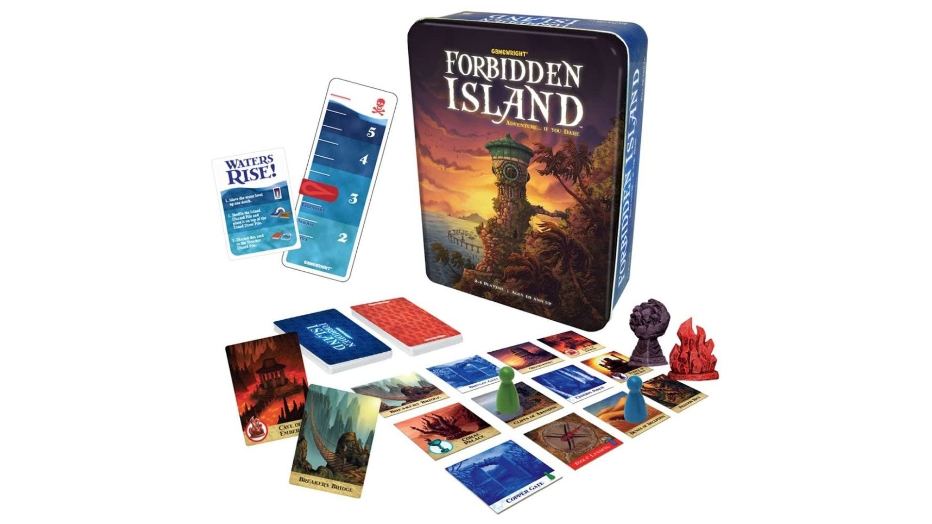 Forbidden Island -- The Cooperative Strategy Survival Island Board Game