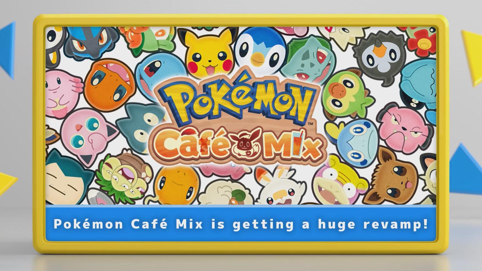 Pokémon Café Mix logo