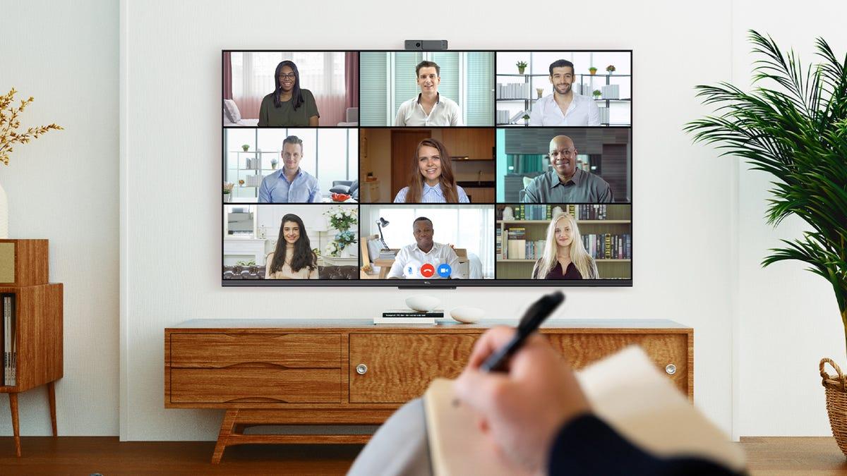 TCL TV webcam