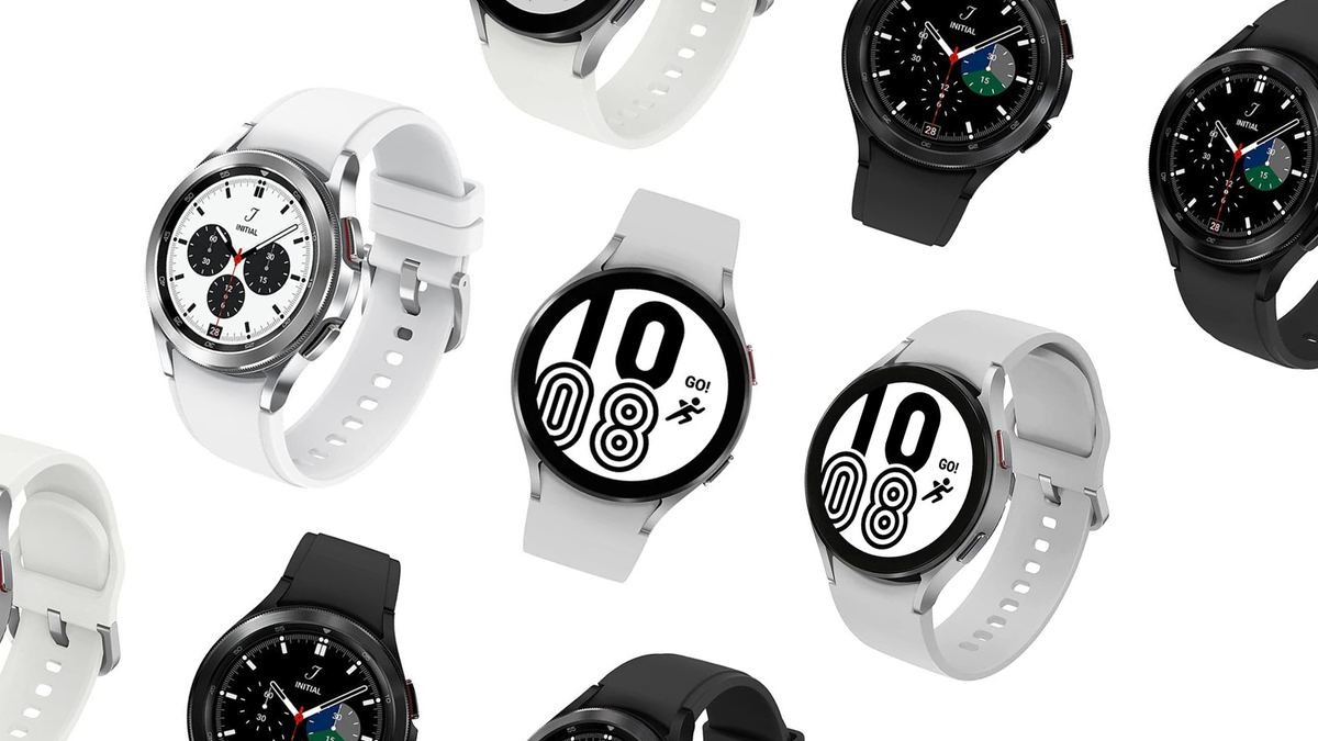 Leaked renders of the Galaxy Watch 4 and 4 Classic.