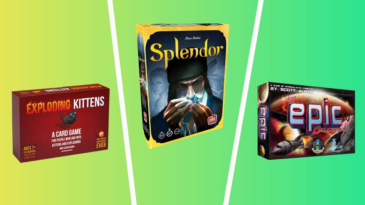 best board games you can play in under thirty minutes including exploding kittens, splendor, and tiny epic galaxies