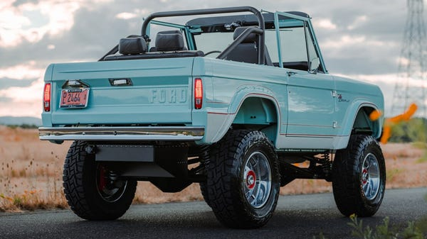 A '72 Ford Bronco EV Conversion Will Cost You as Much as a House