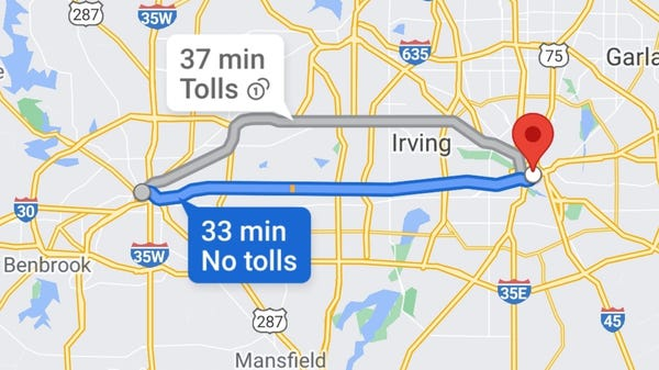 Three Years Later, Google Maps Might Get a Great Waze Feature