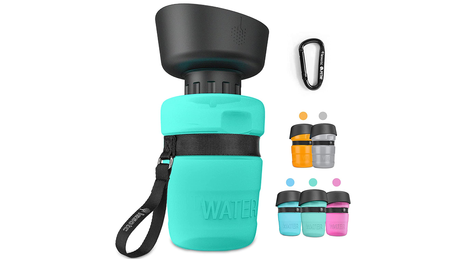 With This Clever Water Bottle, You Can Keep Your Dog Hydrated On the Go