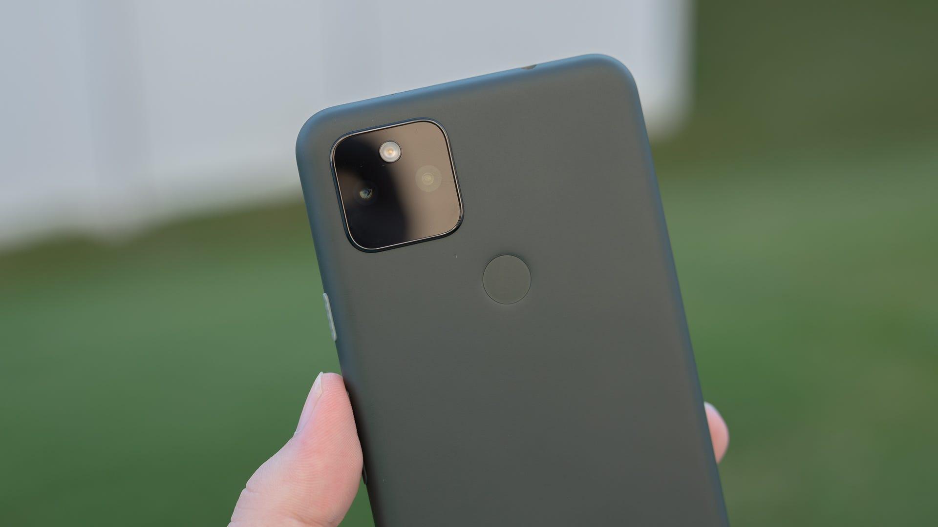 The Pixel 5a camera