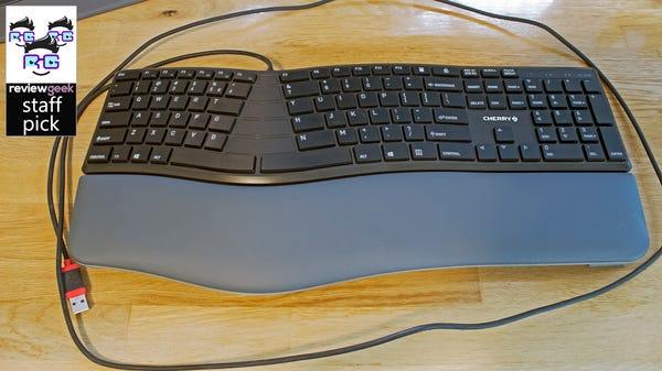 CHERRY KC 4500 ERGO Review: A Great Beginner Ergonomic Keyboard
