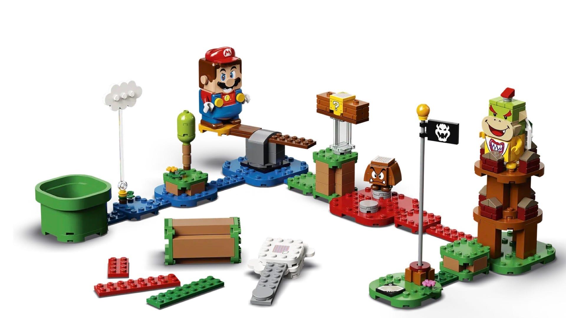 LEGO Mario Course