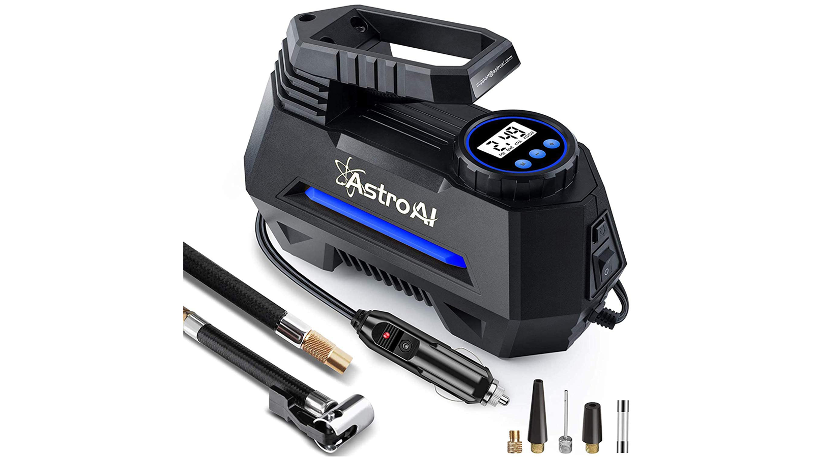 This Portable Air Compressor, Pump, and Tire Inflator is Nice to Have on Hand