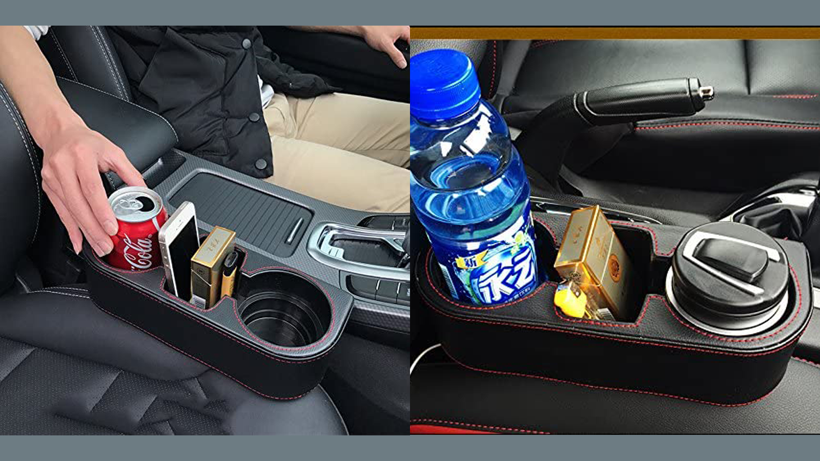 This Car Console Caddy Keeps the Junk in Your Car Organized