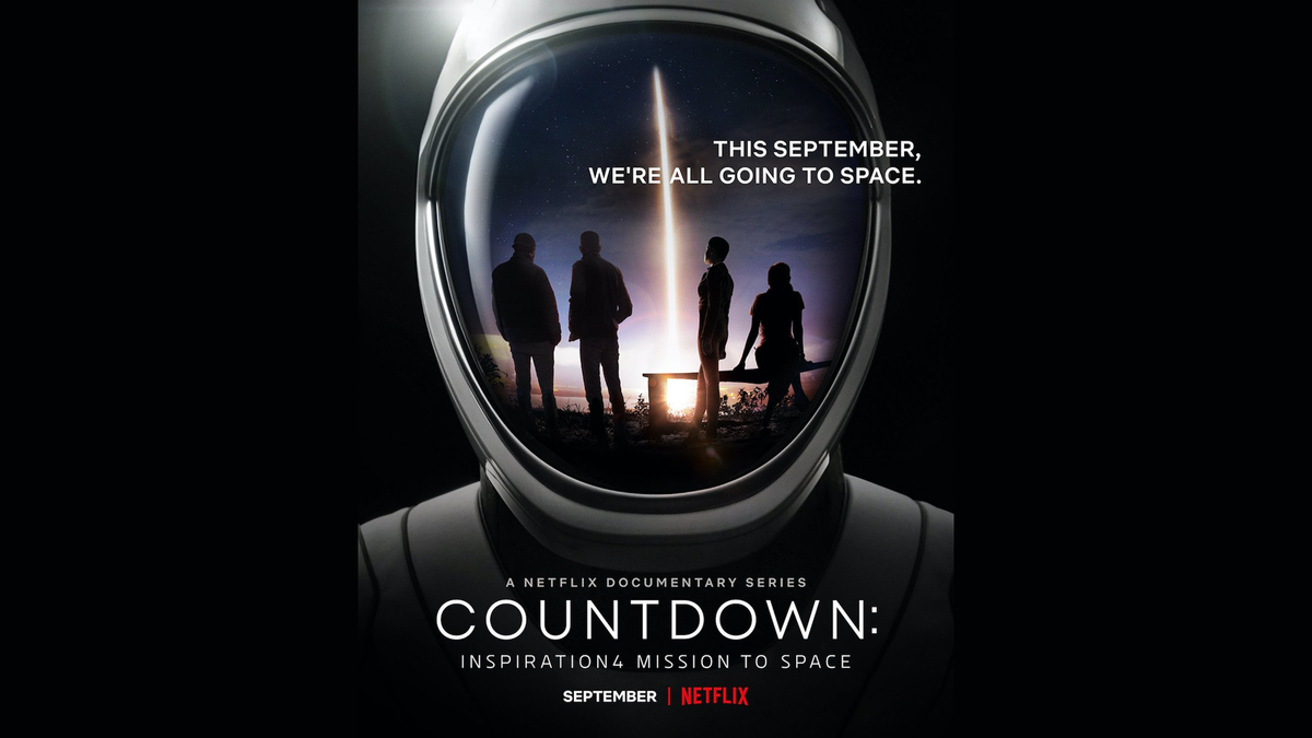 A banner for the Netflix 'Countdown' series.