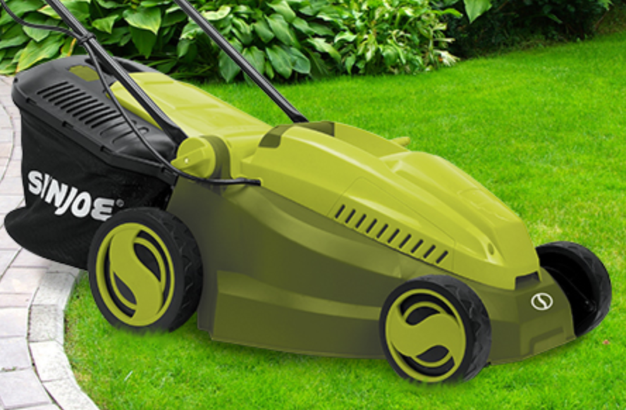 Mow Joe 16-Inch 12-Amp Electric Lawn Mower