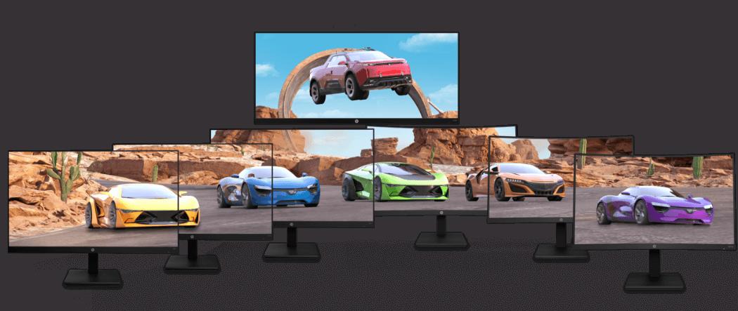 HP X-Series Gaming Monitors