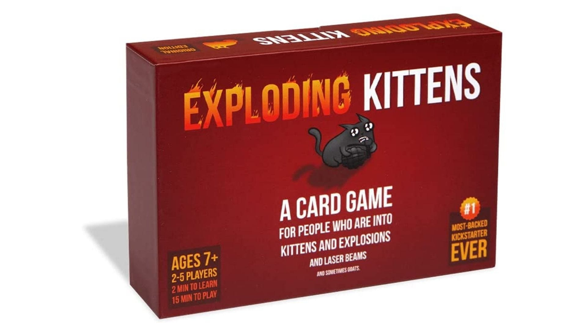 Exploding Kittens - A Russian Roulette Card Game