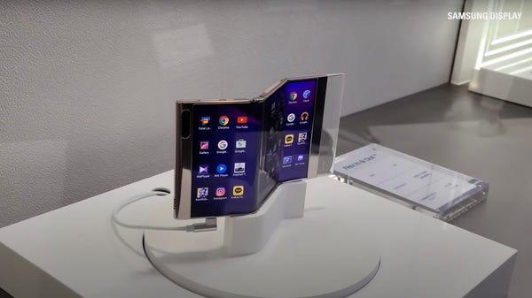 Samsung Teases Its Wild Multi-Folding Phone Prototypes