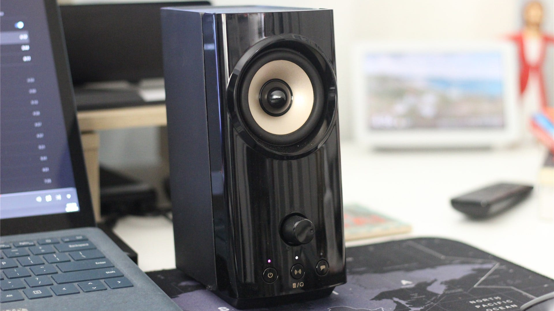 The Creative T60's right speaker