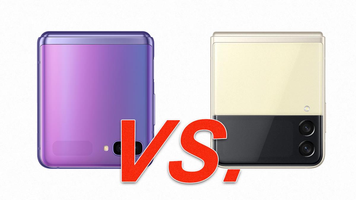 The Samsung Galaxy Z Flip VS the Z Flip 3