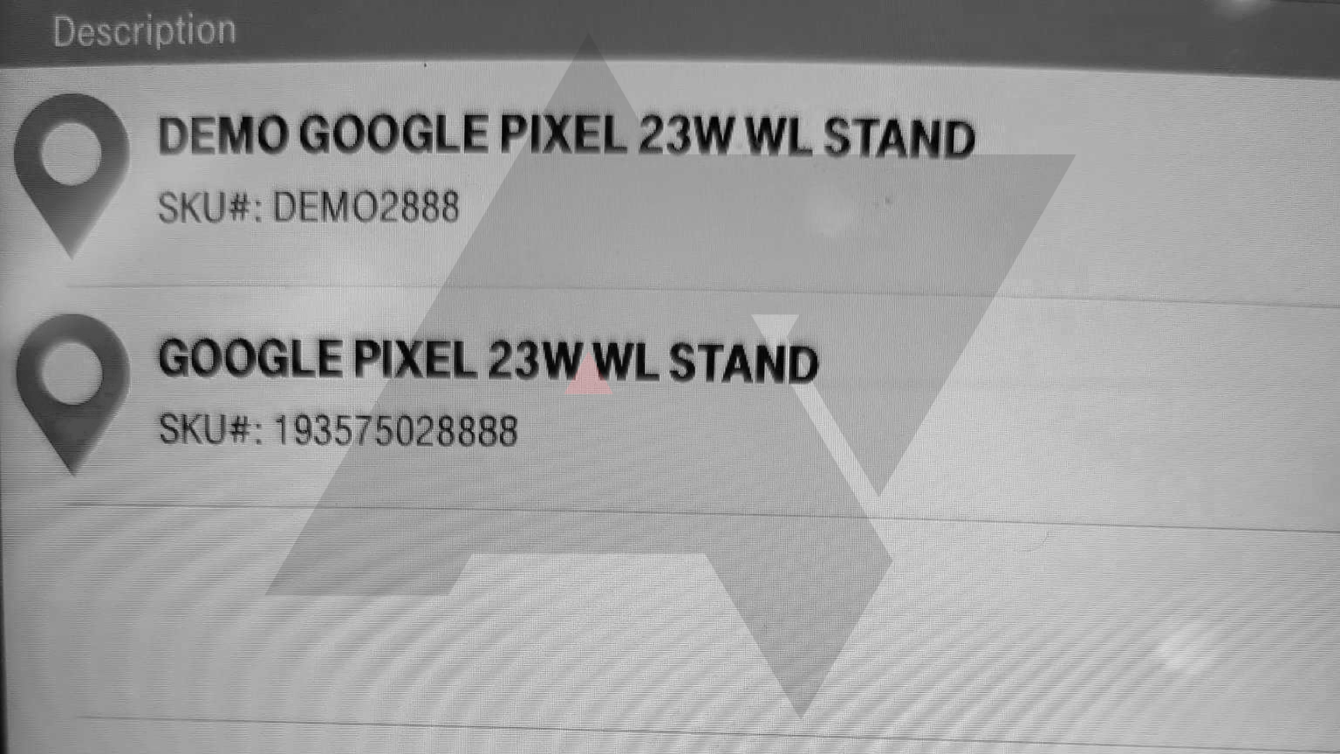 leaked Pixel 6 stand info