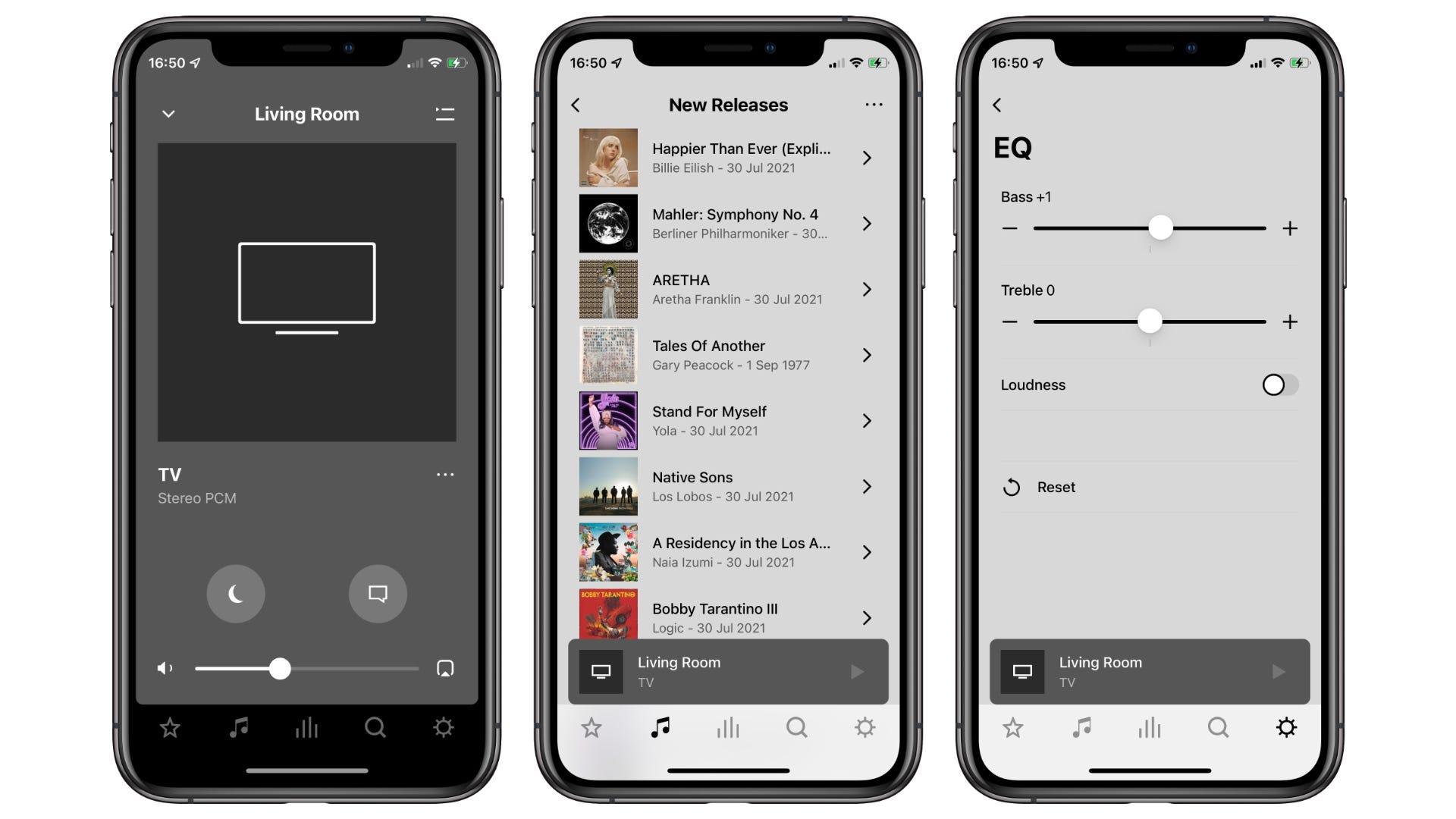 Sonos app for Sonos ARC