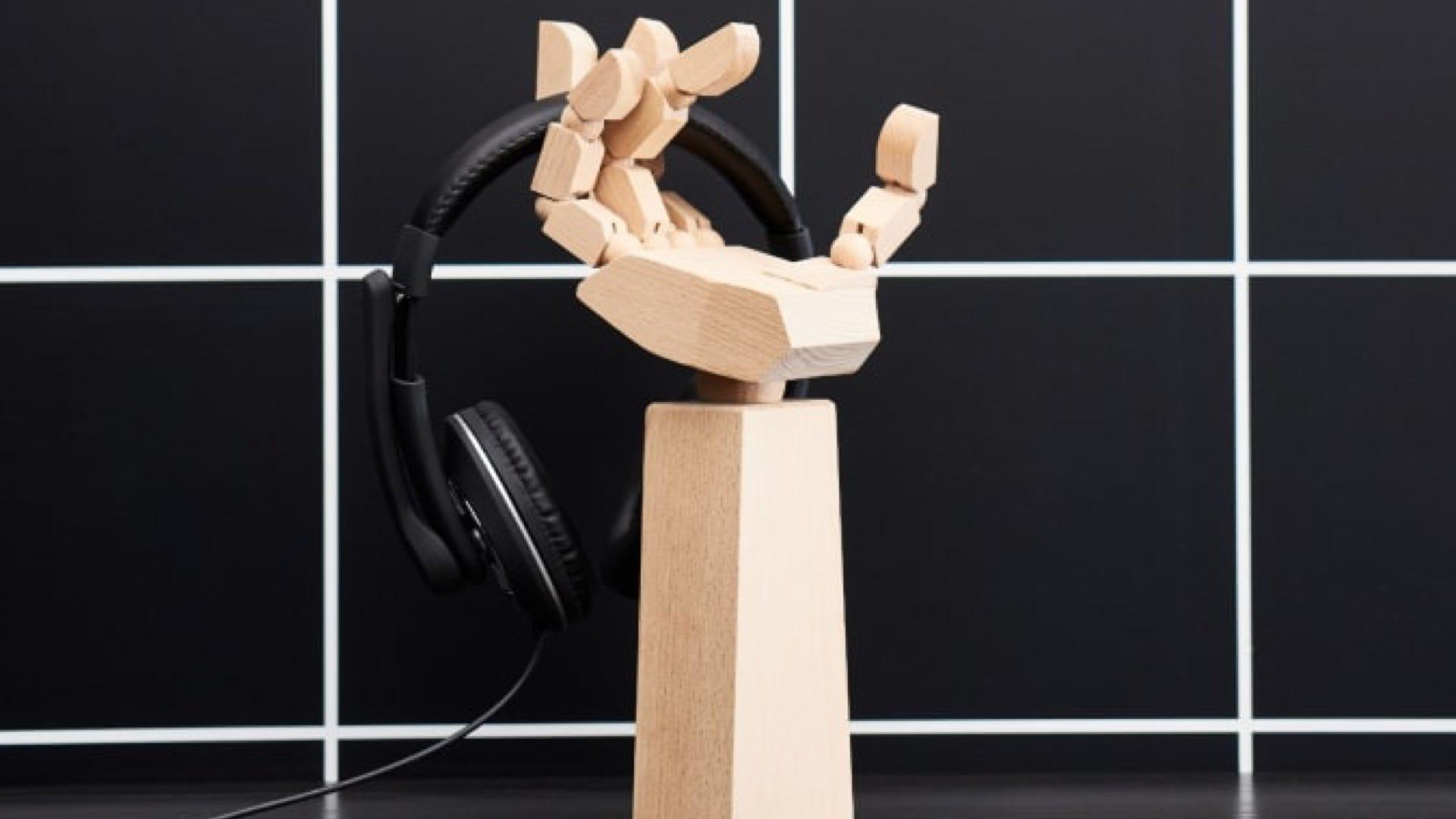 IKEA ASUS headphone holder