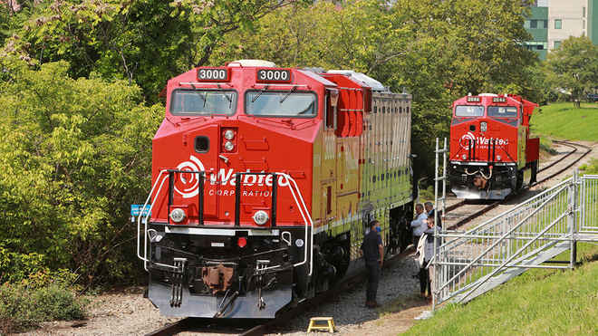 World's First Battery-Electric Freight Train Unveiled in Pittsburgh