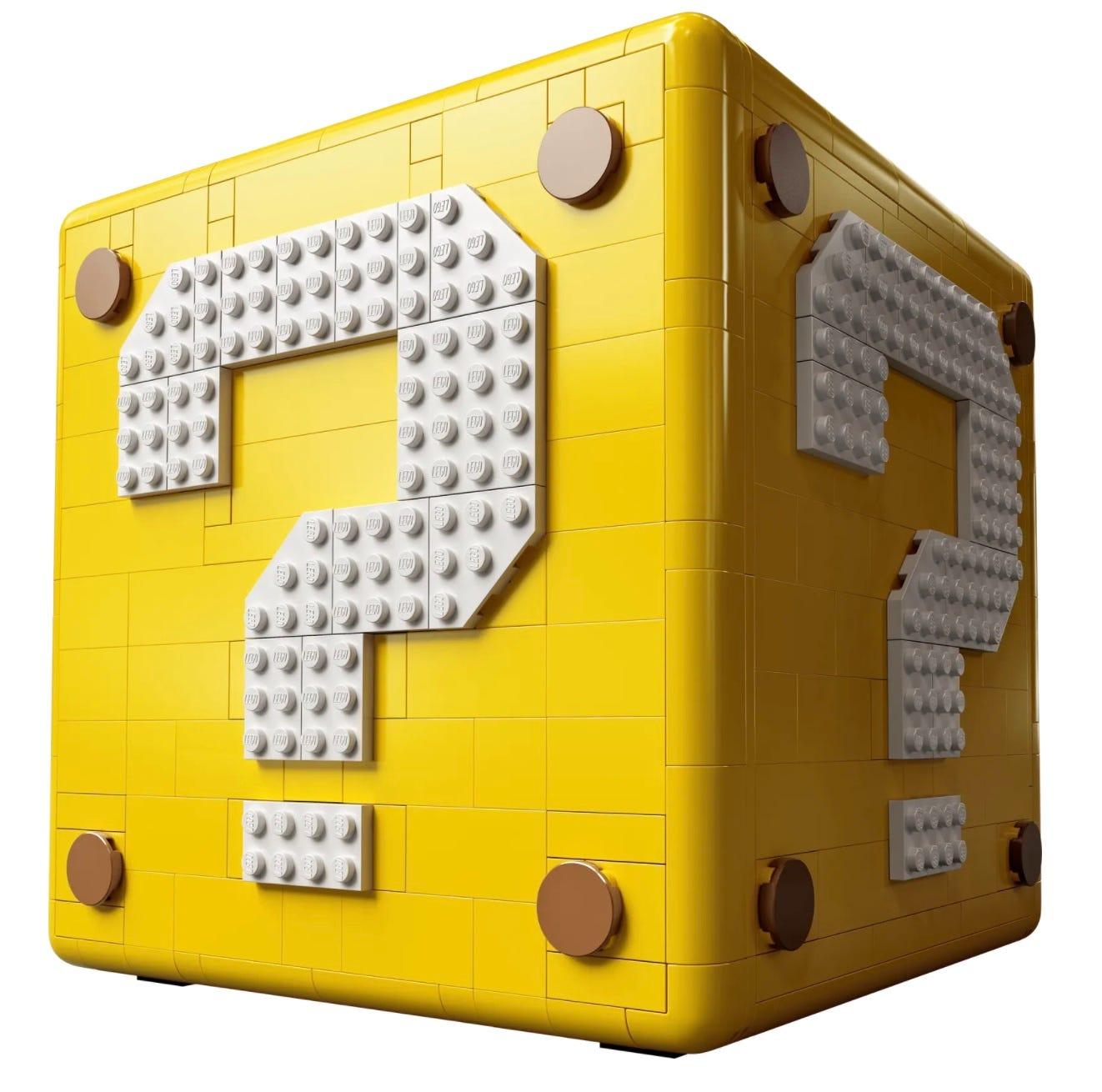 LEGO Super Mario 64 'Question Mark' Block