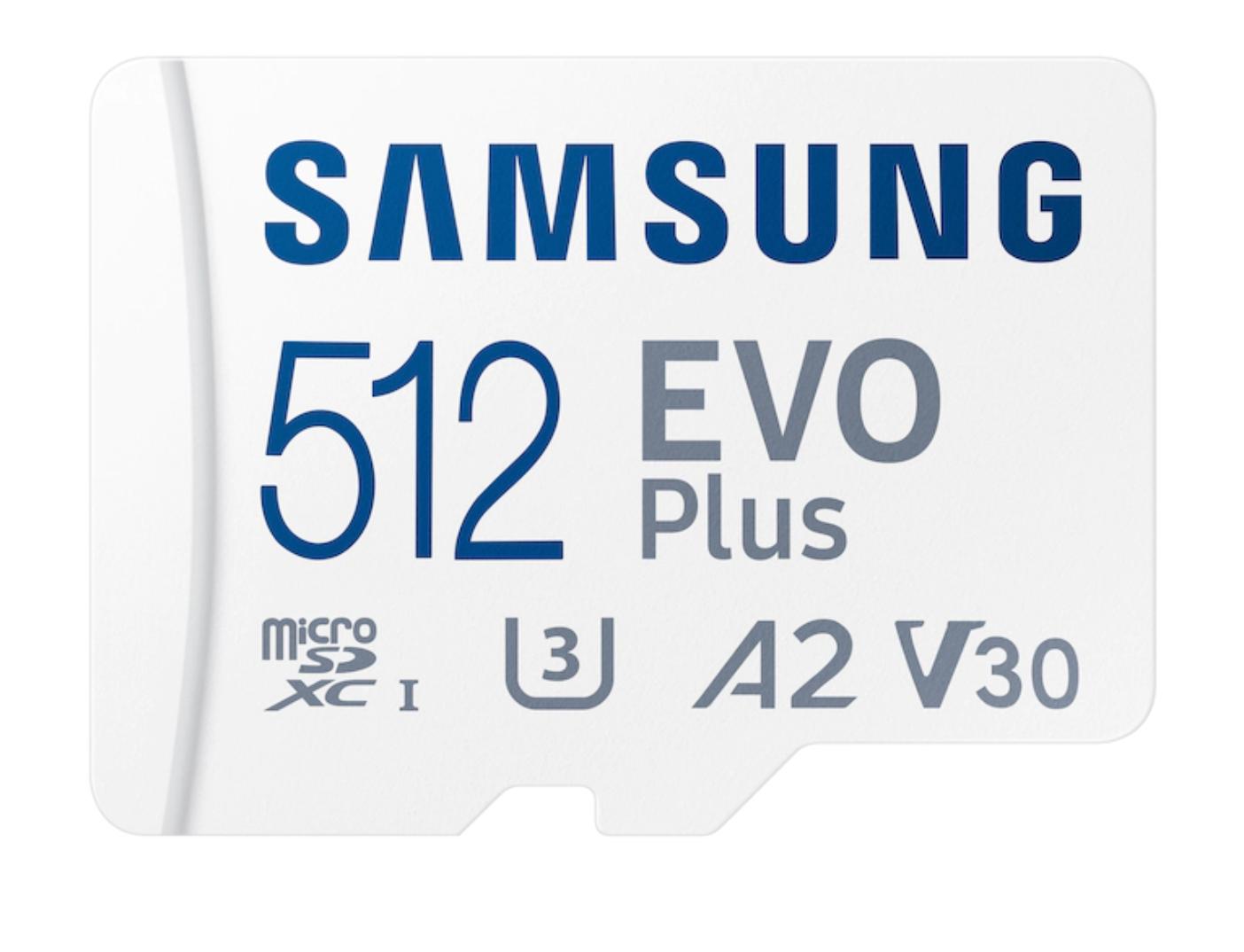 Samsung EVO Plus microSDXC Card + Adapter
