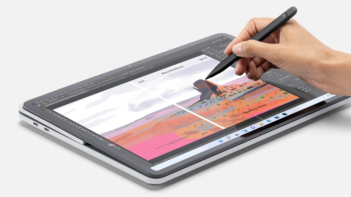 Surface Laptop Studio with Slim Pen 2