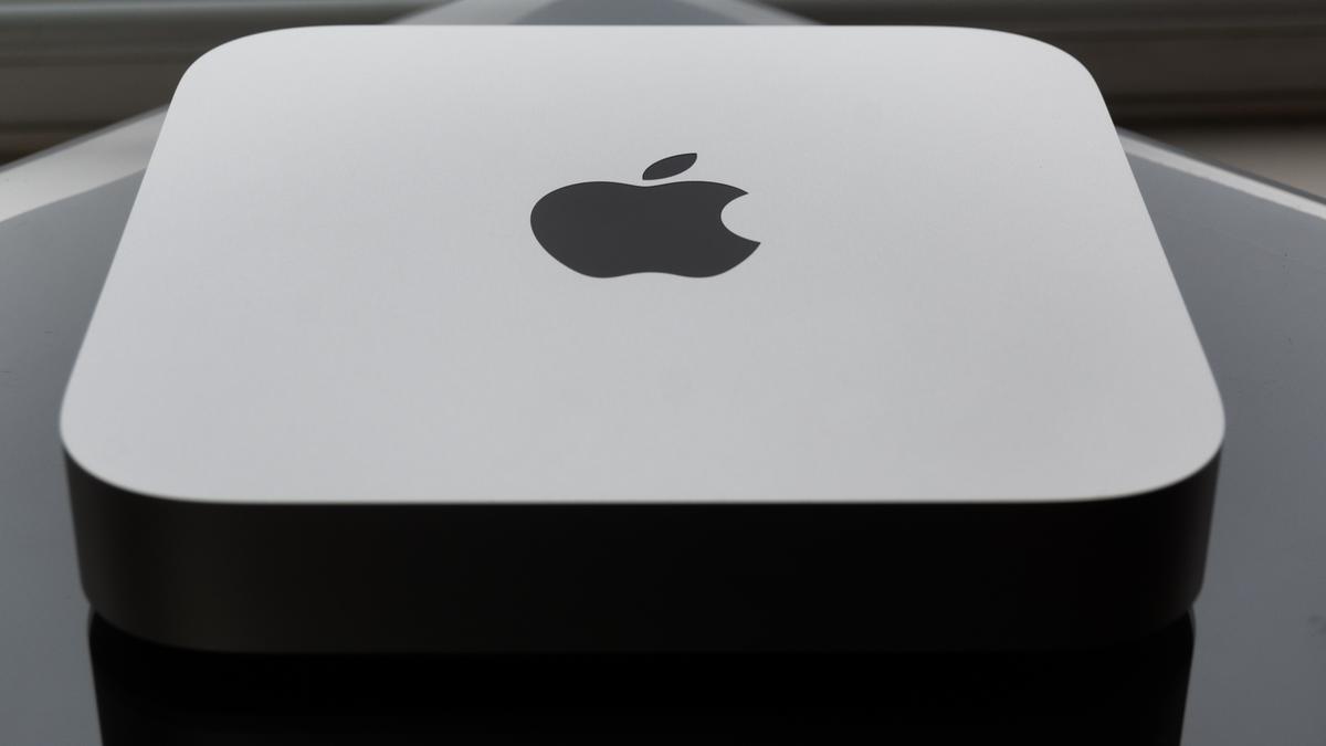 Apple Mac Mini M1 in silver finish