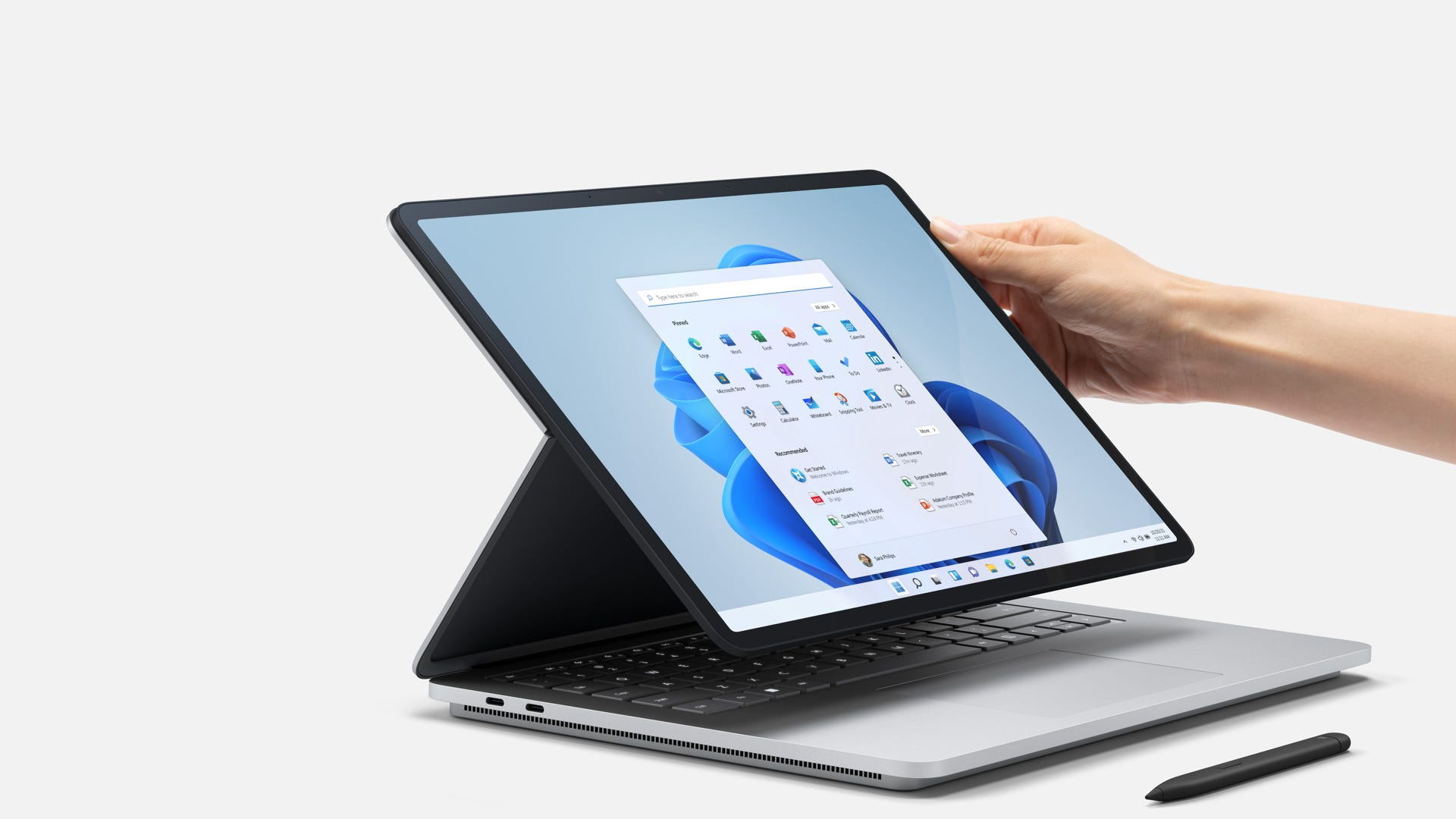 Surface Laptop Studio hinge