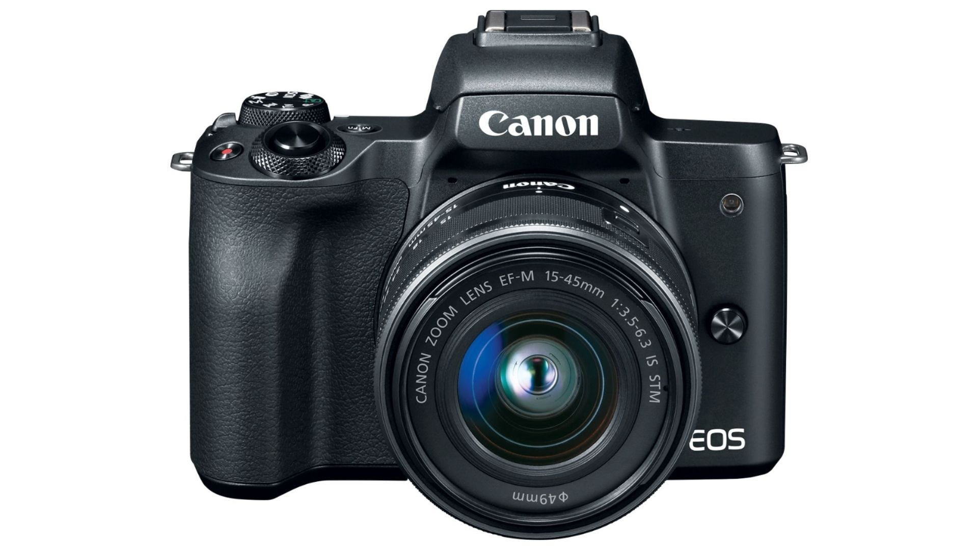 Canon - EOS M50 Mirrorless Camera body plus EF-M 15-45mm f3.5-6.3 IS STM Zoom Lens