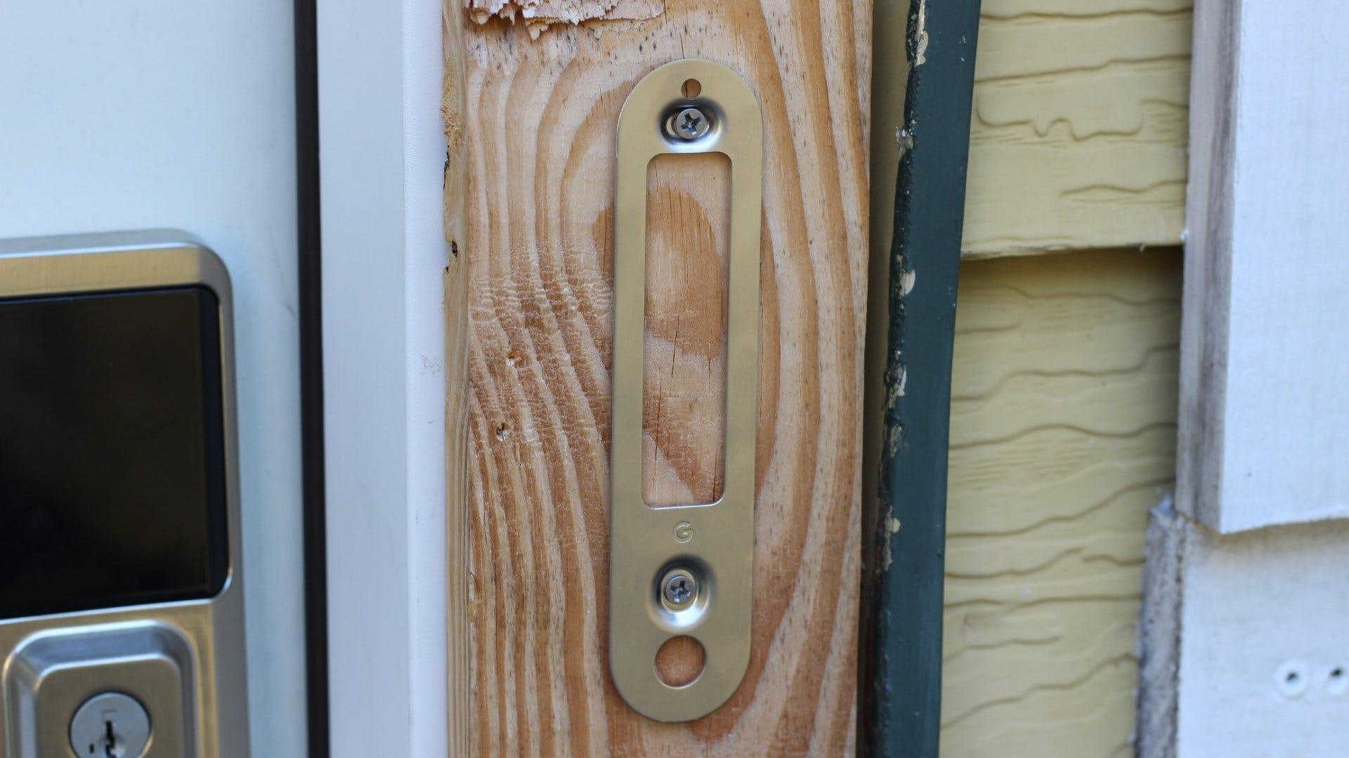 Nest Doorbell (battery) mounting bracket